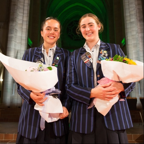 Head Prefect and Deputy Prefect for 2018 announced