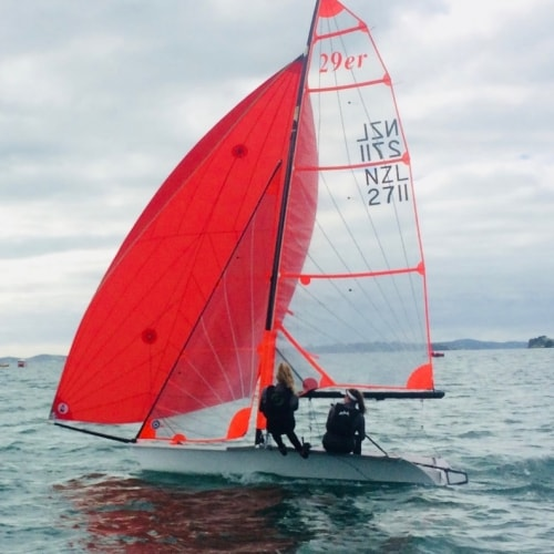 Dio student selected to NZ youth sailing team to compete in Texas