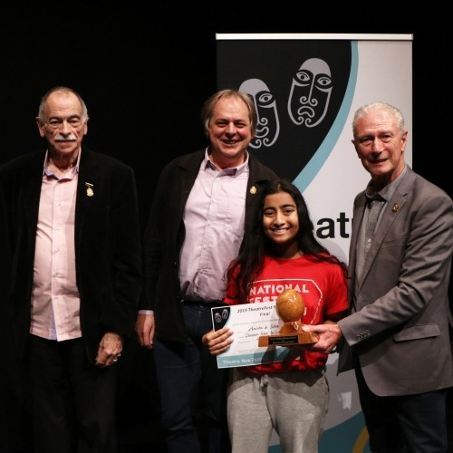 Anisha wins top prize at One Act Play Festival