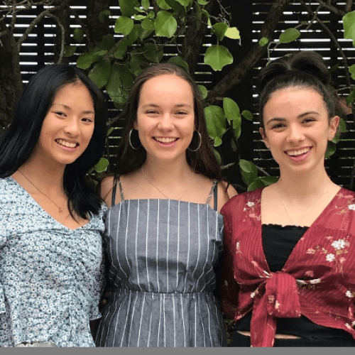 Dio girls combat plastic waste AND period stigma with creative new product