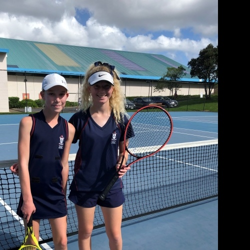 Tennis pair in Auckland champs semi-final